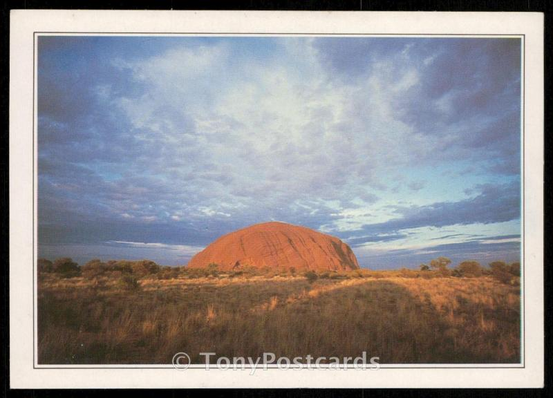 Northern Territory - The monolith of Ayers Rock