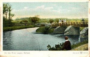 UK - Ireland, Belfast. On the River Lagan