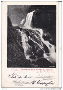 Cascatelle Della Grotta Di Nettuno, TIVOLI, Lazio, Italy, PU-1903