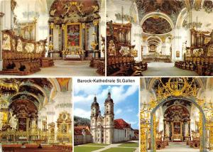 Switzerland St. Gallen Barock kathedrale The Baroque Cathedral
