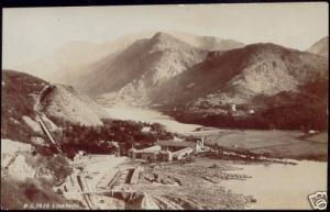 wales, LLANBERIS, Panorama (1910s) RPPC