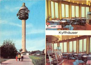 BG13088 fernsehturm auf dem kulpenberg  kyffhauser germany