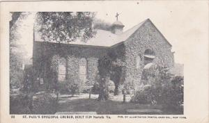 St. Paul's Episcopal Church, Built 1739, Norfolk, Virginia, 10-20s