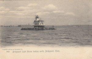 BRIDGEPORT , Connecticut , 1905 ; Bridgeport Light House looking North