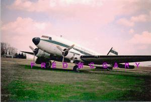 1960 Sandwich Illinois PC: The Legend Douglas DC-3 (N66W)