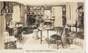 RP: COLEBROOK , New Hampshire, 1930-40s ; Polly's Place , Tea House