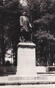 RP; J. Sterling Morton Statue, Founder of Arbor Day, Nebraska City, Nebraska,...