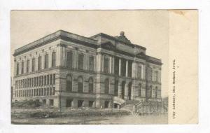 City Library,Des MOines,IA / Iowa 1900-10s