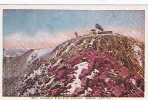 Colorado Summit Of Pikes Peak
