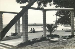 Romania Constanta Black Sea promenade postcard