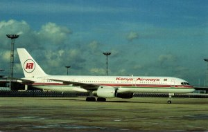 Kenya Airways Boeing B-757-23A At Orly Airport Paris France