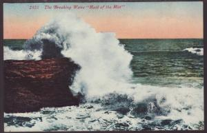 The Breaking Wave,Maid of the Mist Postcard