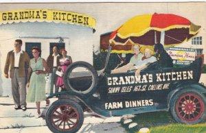 MIAMI BEACH, Florida , 1930-40s ; Grandma's Kitchen Restaurant