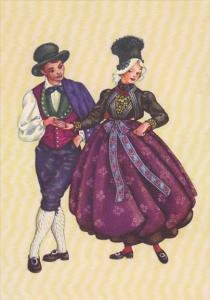 Austria Traditional Costume Vorarlberg Montafon