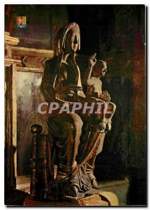Postcard Modern Art and Colors of Cerdagne Font Romeu Font Romeu Our Lady Vir...