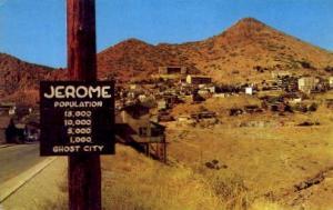 Jerome - Arizona AZ Postcard