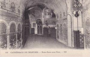 Notre-Dame Sous Terre, Cathedrale De Chartres (Eure et Loir), France, 1900-1910s