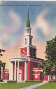 Texas Houston First Church Of Christ Scientist