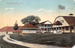 Boyden Heights Rhode Island~Amusement Park~Cold Soda Resfreshment Stand~1910 PC