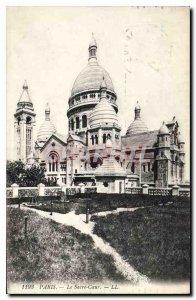 Old Postcard Paris Sacre Coeur