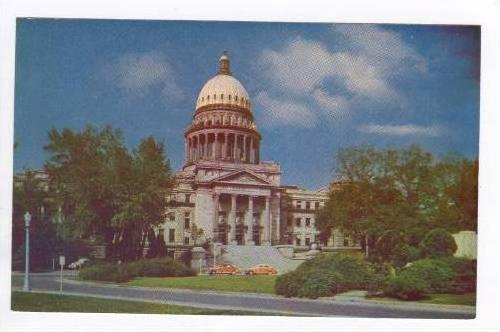 State Capitol Building Boise, Idaho, 40-60s