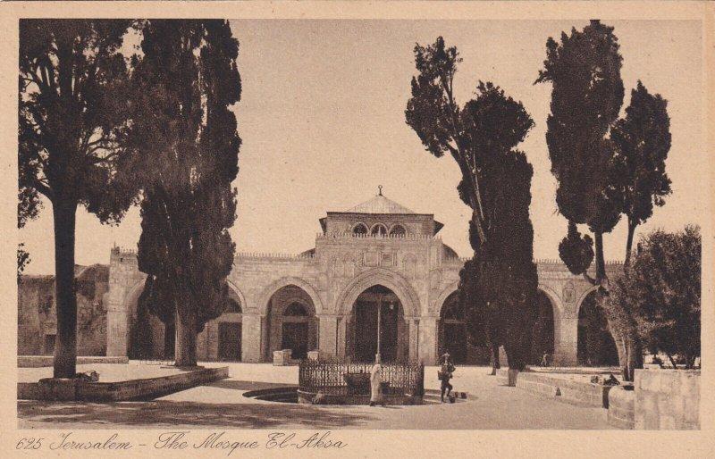 JERUSALEM, Israel, 1900-1910s; Mosquee El-Aksa