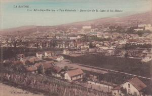 Vue Generale, Quartier De La Gare Et Les Hotels, AIX-LES-BAINS (Savoie), Fran...