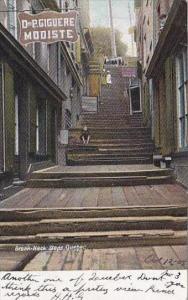 Canada Quebec Break Neck Steps 1905
