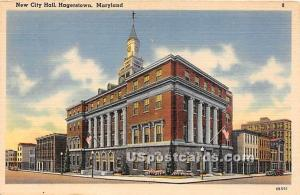 New City Hall Hagerstown MD Unused