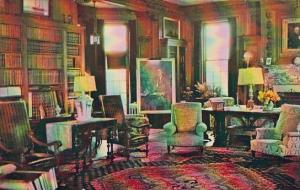 New York Hyde Park The living Room Home Of Franklin D Roosevelt National Hist...