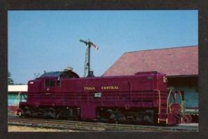 NY Tioga Central Railroad Train FLEMINGVILLE NEW YORK