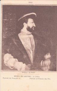 Art Veceli le Titien - Portrait of Francis the First