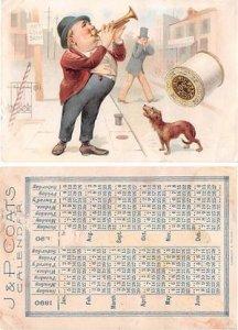 Victorian Trade Card Approx size inches = 2.75 x 4 Pre 1900 crease