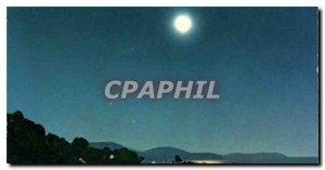Modern Postcard The French Riviera Clair de Lune Cape Brown