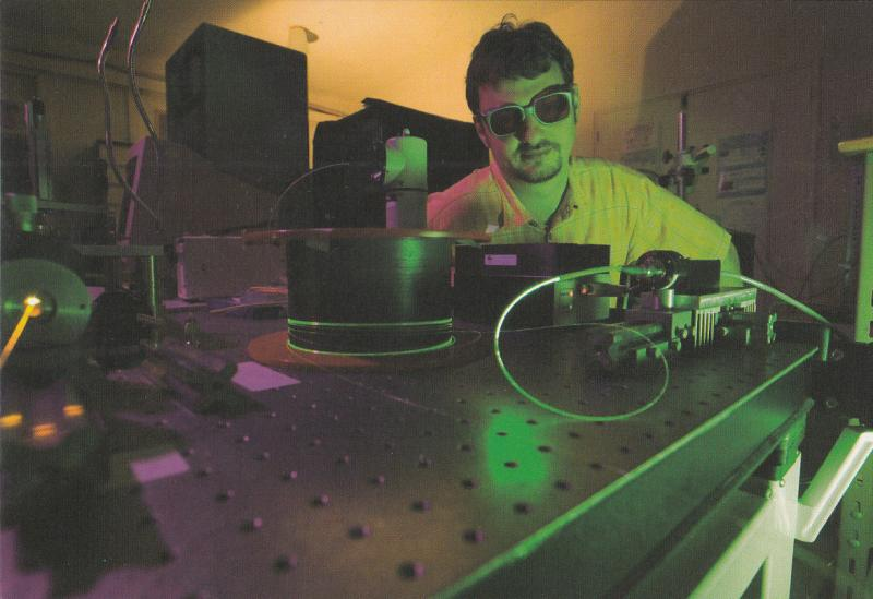 France Research Institute Femto ST Data transmission using laser technology
