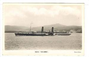 R.M.S. COLUMBIA , Rothesay , I.O.M. , 00-10s