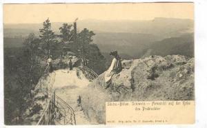 Fernsicht Auf Der Hohe Des Prebischtor, Scweiz, Switzerland, 1900-1910s