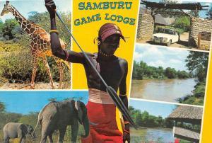 850   Africa Kenya 1970's   Samburu Game Lodge , multi-view