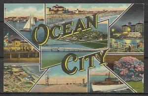New Jersey, Ocean City - Multi-View - [NJ-042]
