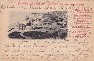 DIEPPE , France , PU-1905 ; Le Casino et la plage