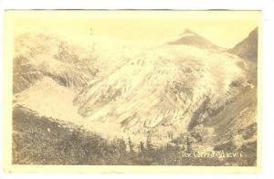 RP; The Great Glacier, Glacier , B.C. Canada , 00-10s S.H.BAKER Photo postcard