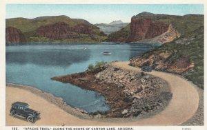 ARIZONA, 1920s; Apache Trail, Along the Shore of Canyon Lake