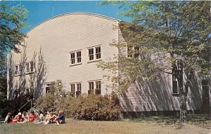 South Haven Michigan~Pilgrim Haven (Christian Conference)~Meeting House~1950s Pc
