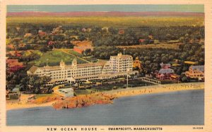 New Ocean House Swampscott, Massachusetts Postcard