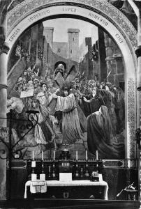 BR5922 Lourdes Mysteres Douloureux Le Portement de Croix  postcard france