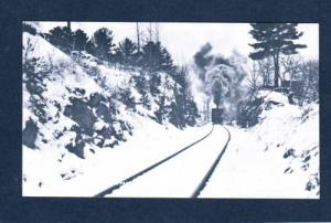 NH Wolfeboro Train Railroad Railway NEW HAMPSHIRE PC