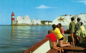 Isle of Wight Postcard, The Needles, Lighthouse DS0