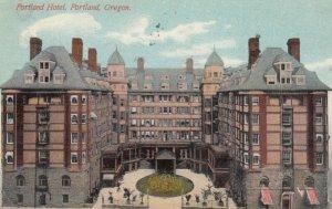 PORTLAND, Oregon, 1910; Portland Hotel
