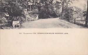 PHILDELPHIA, Pennsylvania; The Wissahickon Below Megargee Lane, 00-10s