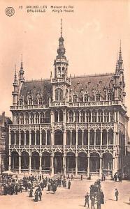 Brussels Belgium, Belgique, Belgie, Belgien King's House Brussels King's House